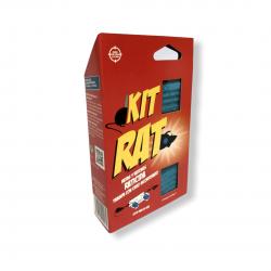 Δολωματικός σταθμός KIT RAT με 2 κύβους ποντικοφάρμακο